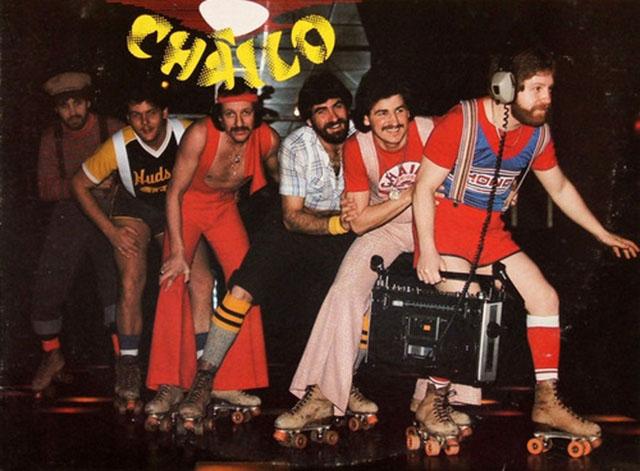 70s roller disco