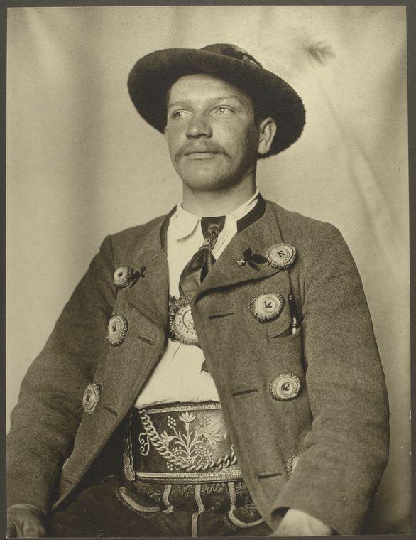 A Bavarian man