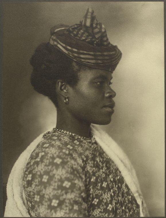 A Guadeloupean woman