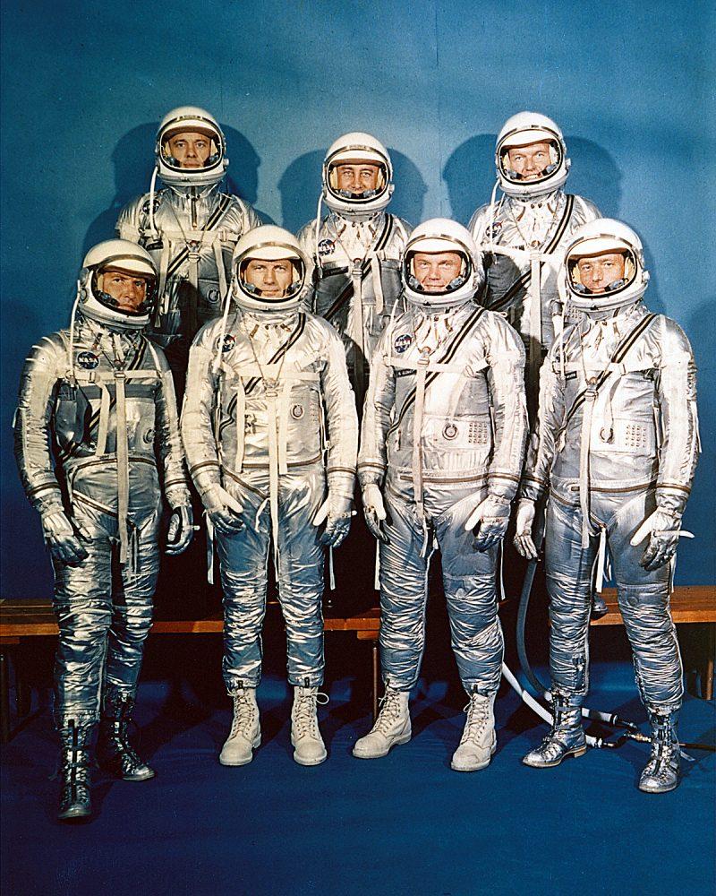 The Project Mercury's seven Astronauts.
