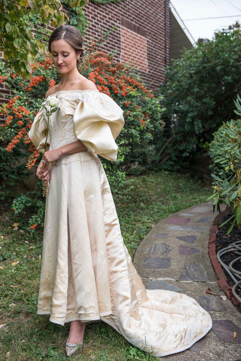 Heirloom Wedding Dress 11th Bride 120 Years Old