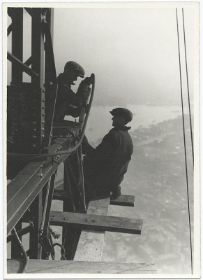 vintage-empire-state-building-costruzione-foto-di-Lewis-Wickes-hine-1931-1
