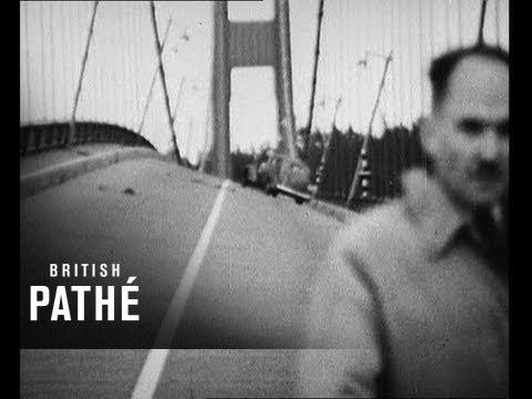 Tacoma Narrows Bridge This Footage Shows The Suspension Bridge