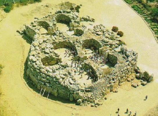 ruins of the Ggantija Temple on the island of Gozo. source