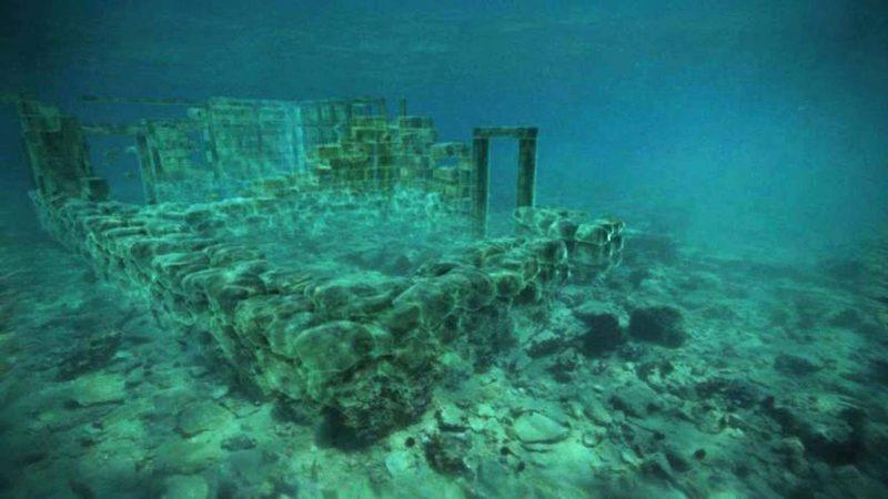 Penampakan kota bawah laut Pavlopetri