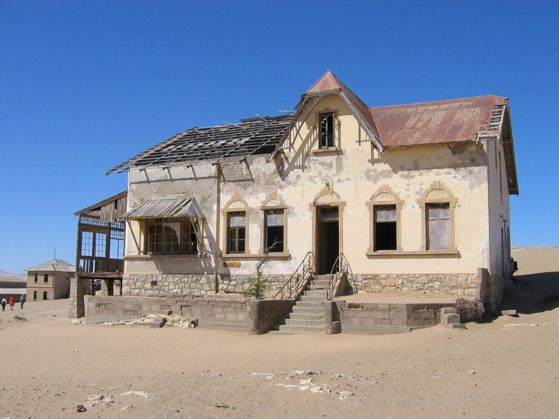 Buchhalterhaus, Kolmannskuppe, Namibia