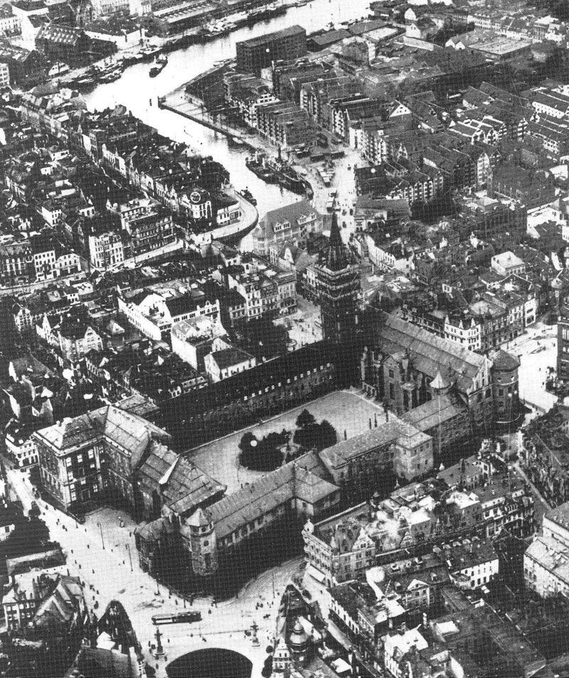 Königsberg Castle, 1925.Source