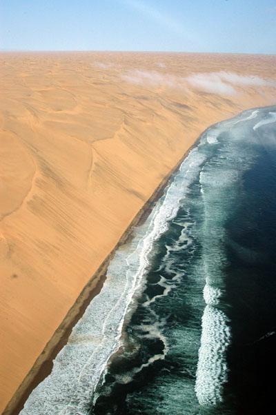 Namib Desert in the Sperrgebiet