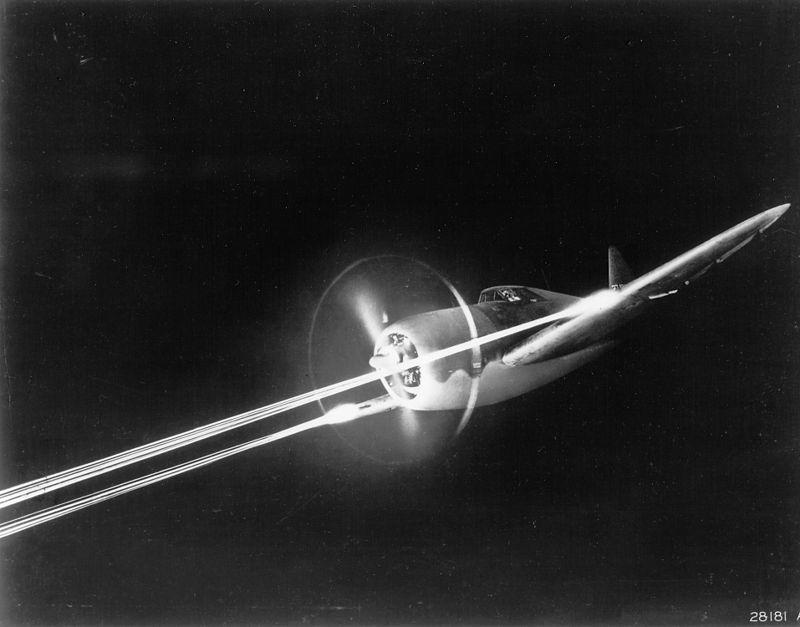 P-47_does_night_gunnery