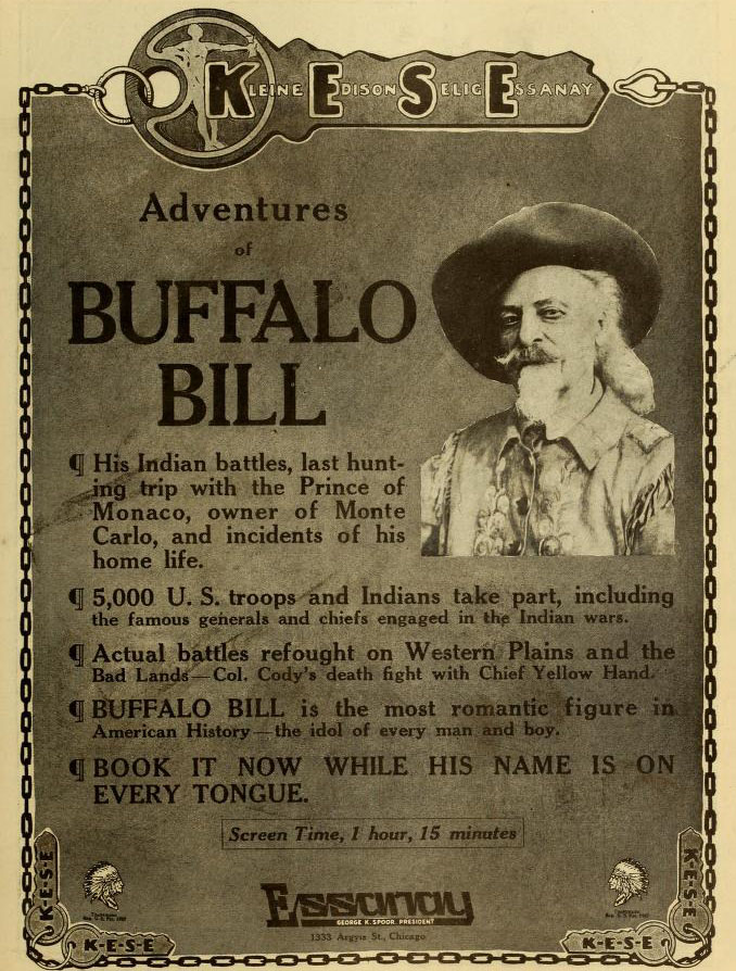 The Adventures of Buffalo Bill (1914)