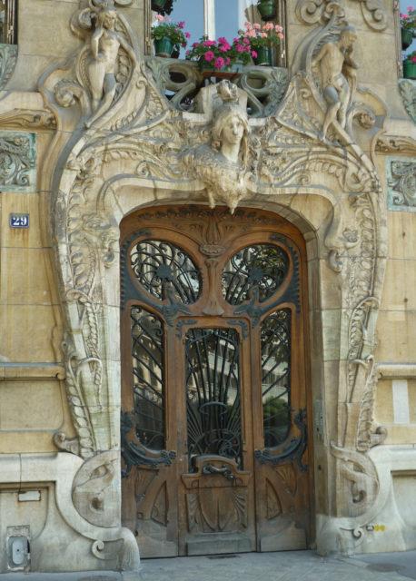 Art Nouveau masterpiece by architect Jules Lavirotte located in Paris.Source Mark B. Schlemme/Flickr