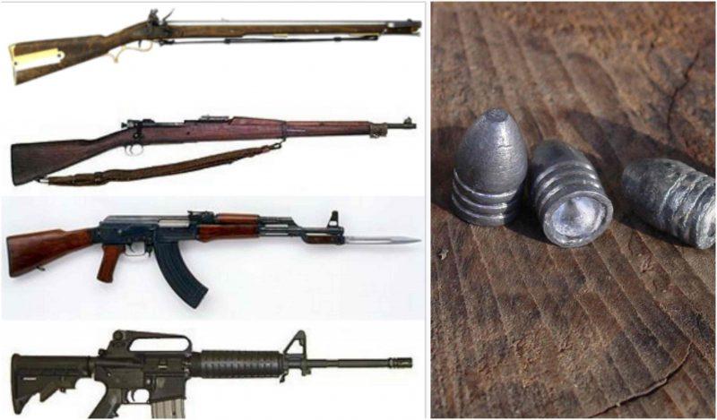the evolution of guns since the revolutionary war