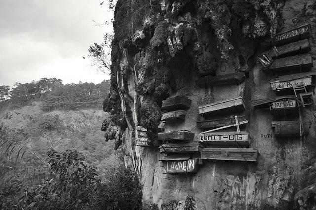 The hanging coffins of Sagada | Flickr