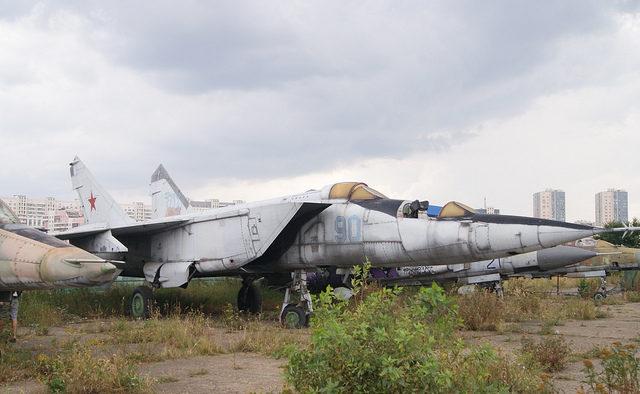 Mikoyan Gurevich MiG-25PU Foxbat