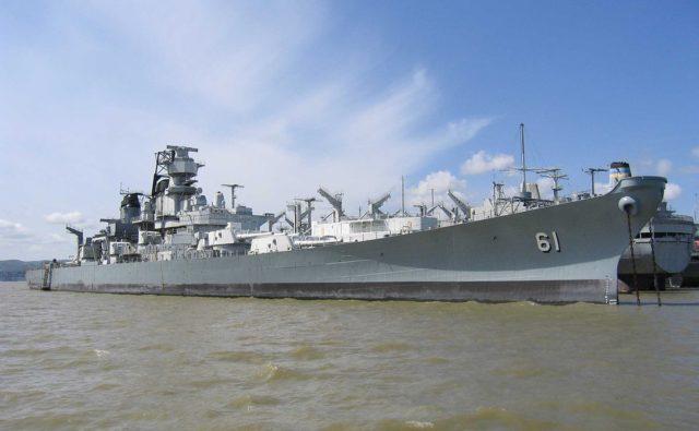 USS Iowa (BB-61). By Check-Six/CC BY-SA 3.0