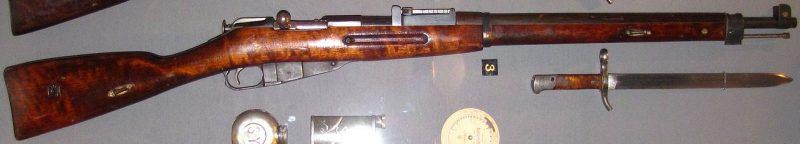 Mosin Nagant M28-30. Fonte: Wikipedia / Domínio Público