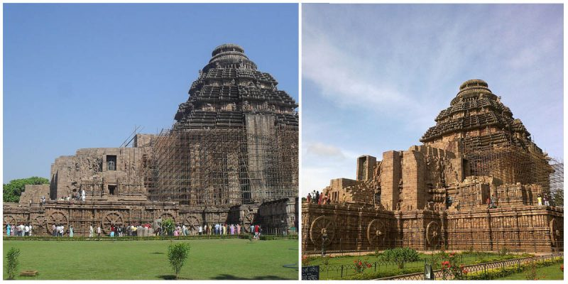 The Konark Sun Temple is a 13th century Hindu Temple