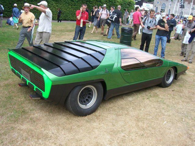 the stunning alfa romeo carabo a futuristic concept car from 1968