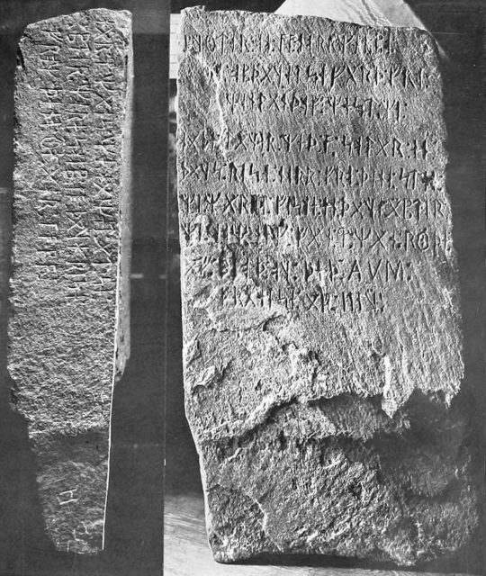 Kensington Rune Stone decoded: Vikings, Templars, and Goths