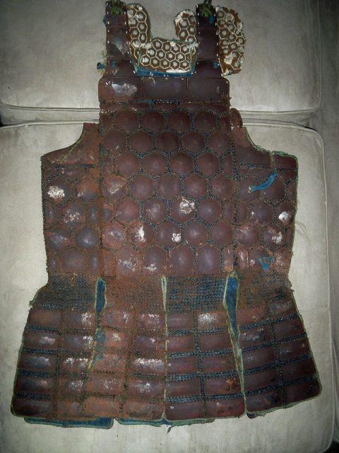 Japanese armor worn by all samurai classes - the Tatami Gusoku