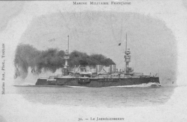 French battleship Jauréguiberry
