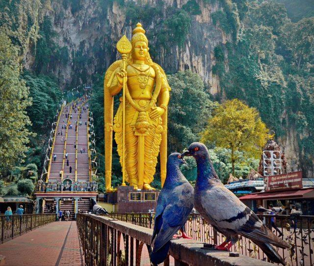 Murugan Statue. Photo Credit
