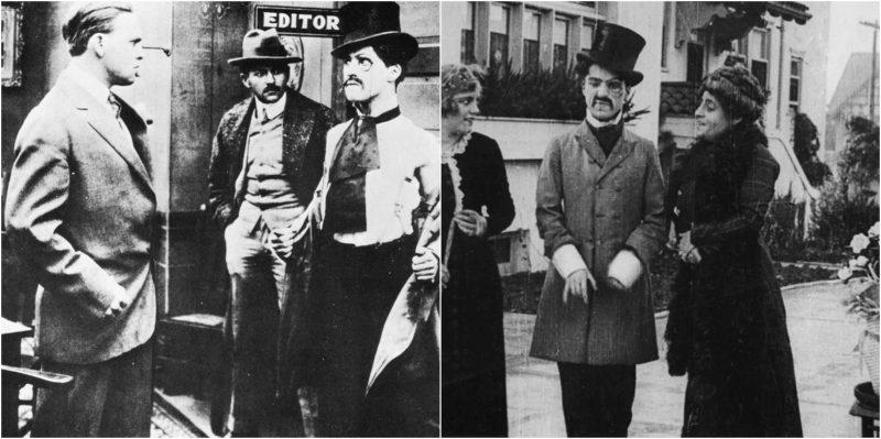 Charlie Chaplin's first movie