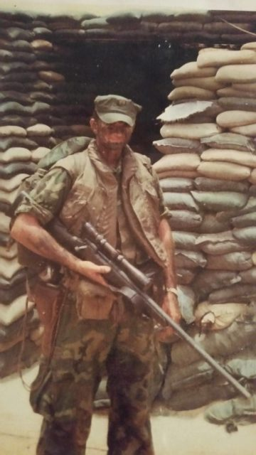 Legendary sniper Carlos Norman Hathcock II shot an enemy ...