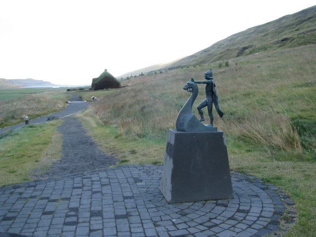 Eiríksstaðir, the homestead of the Erik the Red in Haukadalur.