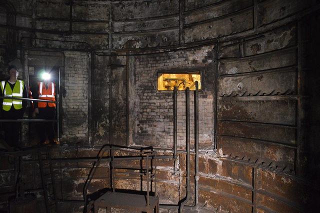 Old lift shaft. Photo Credit