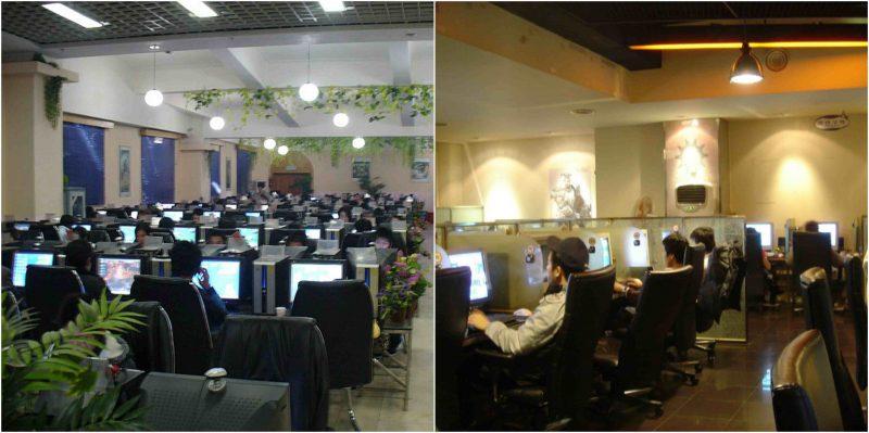 Image on left originally via Matt Lyons of (https://gamegavel.com). BNC Cafe Korea 2006