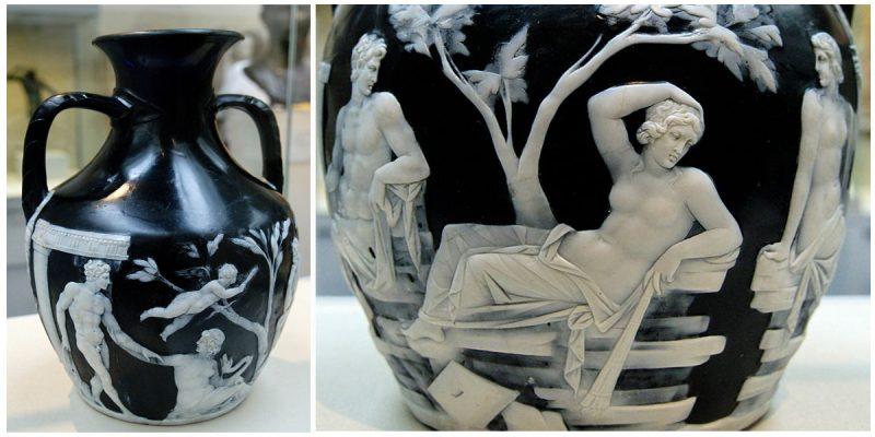 The Portland Vase A Wonder Of Roman Glass Work Was Broken In