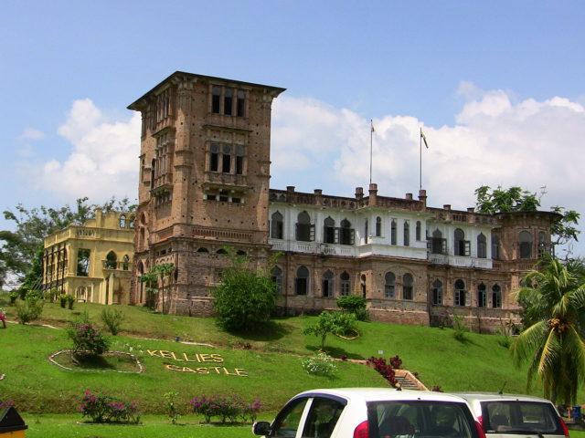 Kellie's Castle, located near Batu Gajah, in Perak, Malaysia. Author: Kulshrax CC BY 3.0