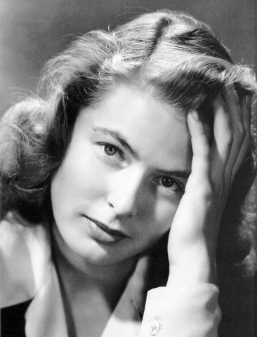Publicity photo of Ingrid Bergman.