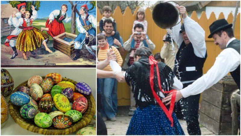 dyngus day a polish celebration on easter monday that involves boys