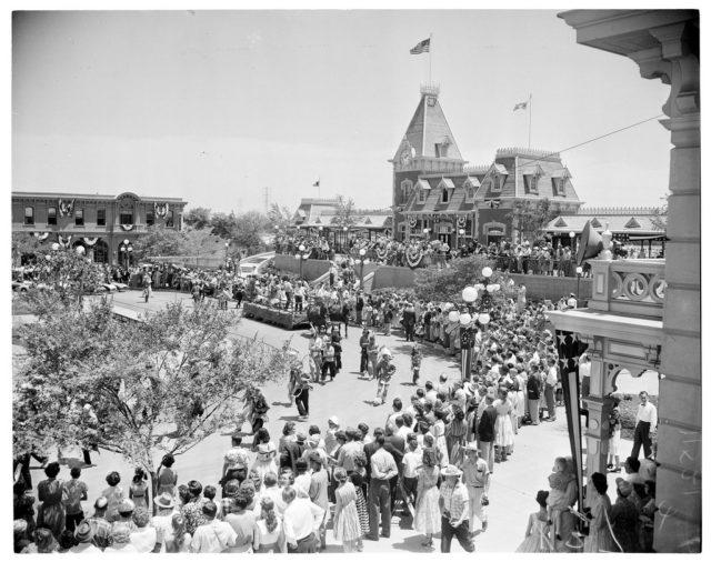 Disneyland Opening Day July 17 1955