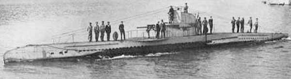 German submarine U-456