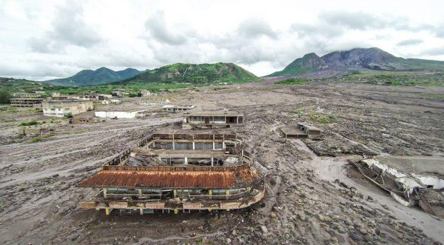 Montserrat The Pompeii Of The Caribbean