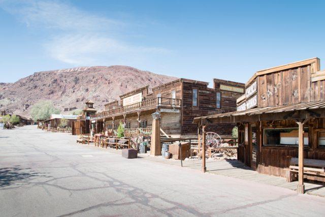 Calico In San Bernardino County Miners Gunslingers And Brothel