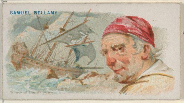 Samuel Bellamy, Wreck of the Whydah