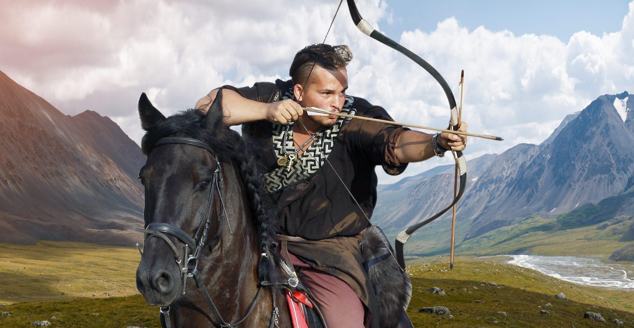 Bowman on horseback of the ancient world.