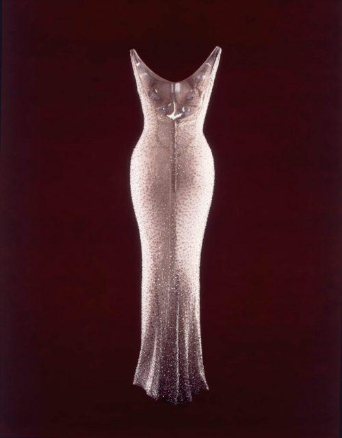 Happy Birthday Mr. President: It's true Monroe's dress was so ...