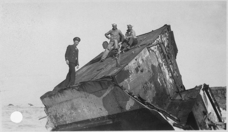 Point Honda Shipwreck Site September 8, 1923, Santa Barbara Co. California.