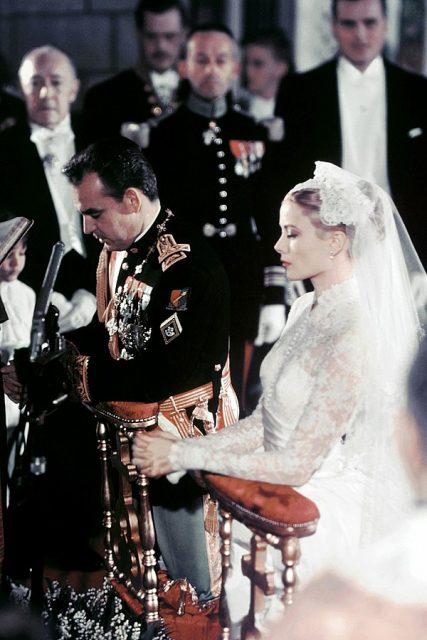Grace Kelly Wedding Photo By Caroline Picard Cc Sa 4 0