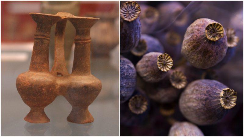 Ancient Drug Dealers? Opium Discovered Inside Juglet Sealed for 3000 Years