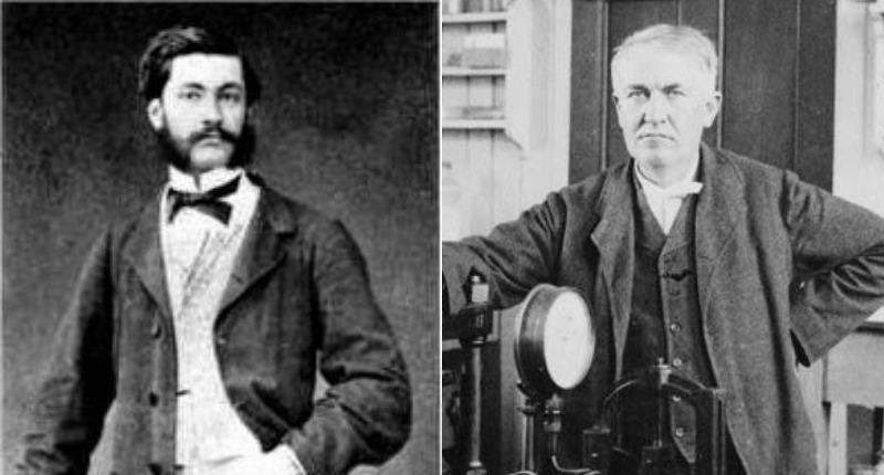 Louis Le Prince and Thomas Edison