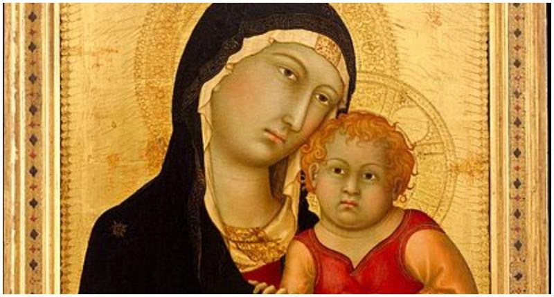 Simone Martini, Madonna and Child