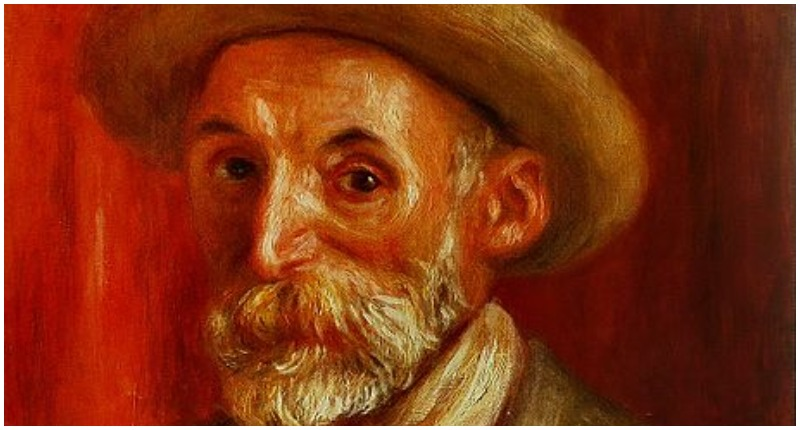 Pierre-August Renoir self portrait 1910