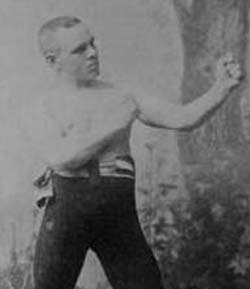(Boxer Andy Bowen (1864-1894 | طولانی ترین مسابقه بوکس جهان