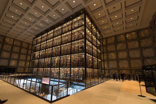 Beinecke rare book library
